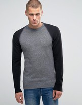 Diesel K-fucatio Jumper Contrast Sleeves