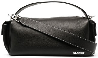 Sunnei Labauletto leather tote bag