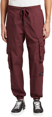 Dolce & Gabbana Men's Drawstring Cargo Pants