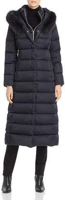 Herno Fur-Trim Maxi Down Coat