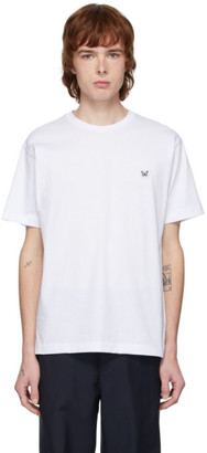 Davi Paris White Logo Patch T-Shirt