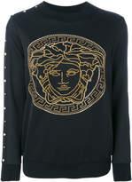 Versace Medusa studded sweater