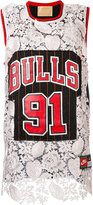 Night Market - Chicago Bulls embroidered NBA tank - women - Polyester - One Size