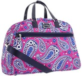 Vera Bradley Luggage - Travel Overnighter (Boysenberry) - Bags and Luggage