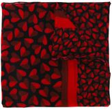 Paul Smith heart print scarf
