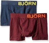 Bjorn Borg Men's Boxer Trunk Seasonal Solids, 2-Pack