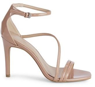 BCBGeneration Isabel Patent Ankle-Strap Stiletto Sandals