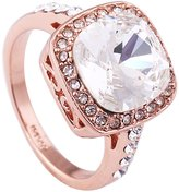 Acefeel Gorgeous 1.5ct Austrian Crystal Engagement Ring For Women Mother's Day Gift Ring R083