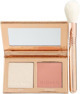 Sigma Beauty Rose Glow Cheek Duo