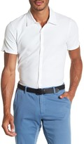 Zachary Prell Palmetto Pique Pima Cotton Trim Fit Shirt