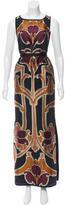 Gucci Jacquard Evening Dress