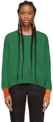 Marni Green Cashmere Sweater