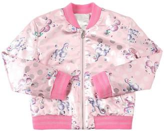 Little Marc Jacobs Reversible Bomber Jacket