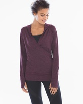 Soma Intimates Hooded Pull Over Malbec