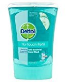 Dettol No-Touch Refill Hand Wash Refreshing Cucumber, 250ml by