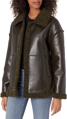 BB Dakota Women's Shear & Far Faux Leather Jacket