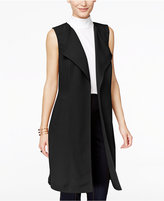 INC International Concepts Petite Open-Front Trench Vest, Only at Macy's