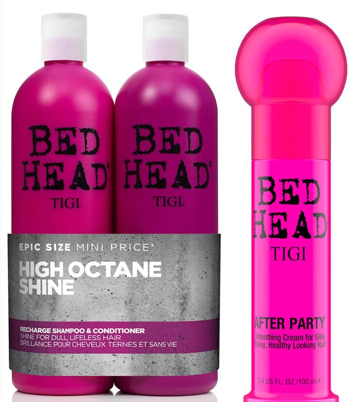 Tigi Bed Head Shiny Shampoo, Conditioner and Styling Cream Set