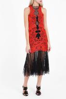 Jonathan Simkhai Dome Lace Macram Gown