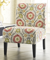 Signature Design by Ashley Floral Honnally Accent Chair