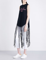 Wildfox Couture No Love No Backstage Pass cotton-jersey top