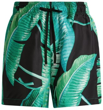 Amiri Leaf Print Shorts
