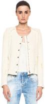 IRO Regan Tweed Jacket in Topaze