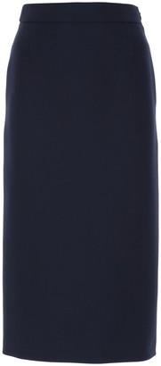 Prada High-Waist Pencil Skirt