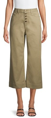 Time and Tru Wide Leg Capri Jeans