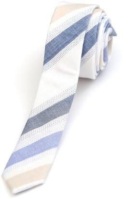 Appaman Boys' Striped Linen/Cotton Tie