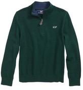 Vineyard Vines Toddler Boy's Classic Quarter Zip Sweater