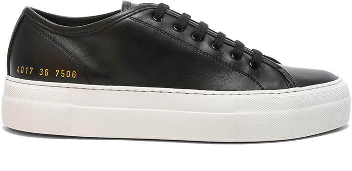 Common Projects Leather Low Tournament Super Sneakers