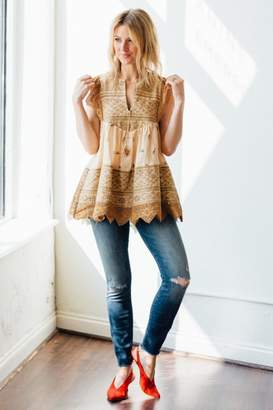 Spell & The Gypsy Collective Muwala Embroidered Blouse