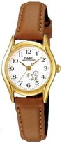 Casio Women's LTP1094Q-7B7 Brown Leather Quartz Watch with Dial