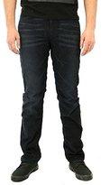 Calvin Klein Jeans Men's Slim Straight Washed Indigo Cord