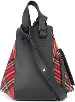 Loewe 'Hammock' tartan bag - women - Leather/Wool - One Size