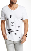 Kinetix Black Birds Graphic Tee