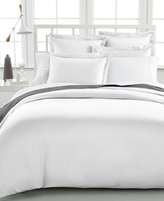 Charter Club CLOSEOUT! Damask King Duvet Cover, 500 Thread Count 100% Pima Cotton