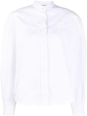 Philosophy di Lorenzo Serafini Mandarin Collar Shirt
