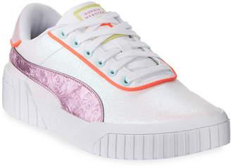 Puma Cali Sophia Glitter Low-Top Sneakers