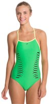 Speedo Laser Cut Extreme Back One Piece Swimsuit 8114595