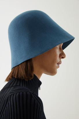 Cos Wool Moulded Bucket Hat