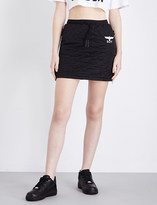 Boy London Drawstring quilted mini skirt