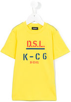 Diesel printed text T-shirt