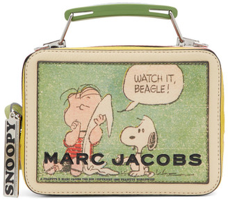 Marc Jacobs Multicolor Peanuts The Mini Box Bag