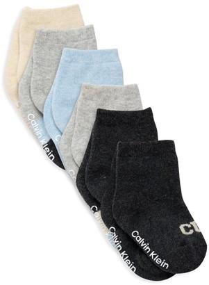Calvin Klein Six-Pack Logo Socks