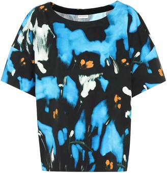 Dries Van Noten Printed cotton top