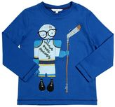 Little Marc Jacobs Hockey Player Cotton Jersey T-Shirt