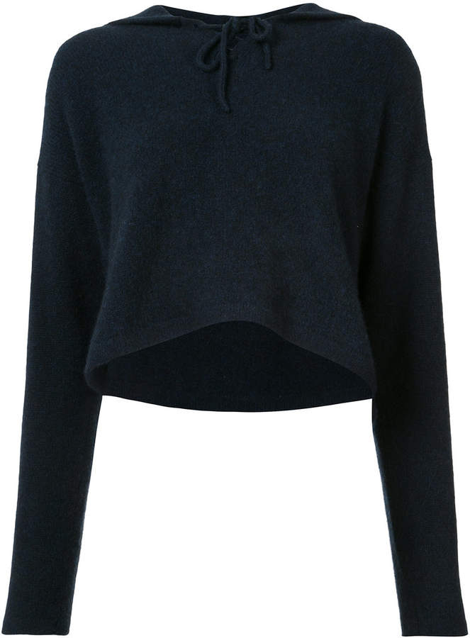 The Elder Statesman cashmere knitted hoodie