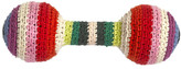 Anne Claire Crochet Baby Rattle - Mix Stripe